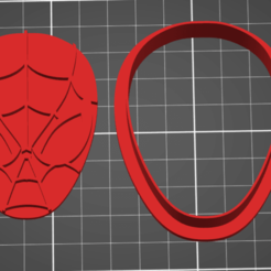 spiderman.png Télécharger fichier STL Spiderman Coupeur de biscuits • Design pour imprimante 3D, ichano