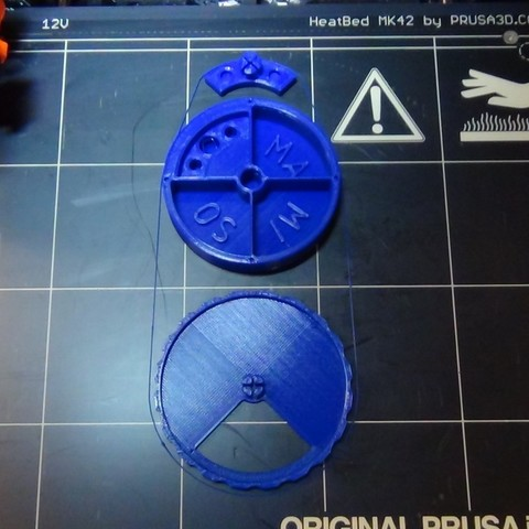 Pilulier-02.JPG Download free STL file Daily pill dispenser • Design to 3D print, Ldom21