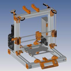 Download free 3D printing designs Modified Prusa i3 MK2S, Ldom21