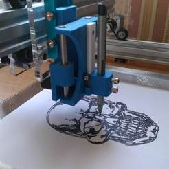 Free 3D printer model Elekslaser A3 PRO --> Eleksdraw, Ldom21