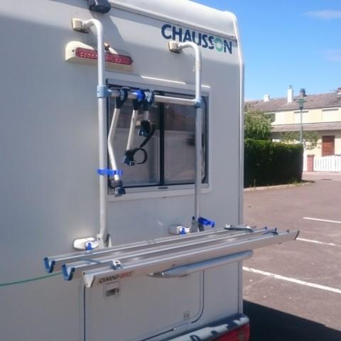 Vue 02.jpg Télécharger fichier STL gratuit Pièces Porte vélo camping car • Plan à imprimer en 3D, Ldom21