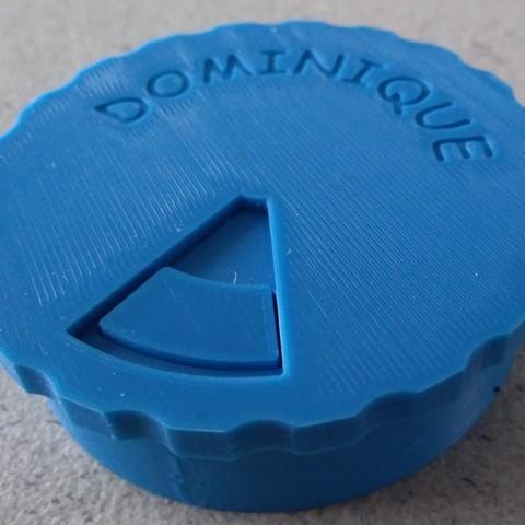 Free 3D model Pill box Weekly dispenser, Ldom21