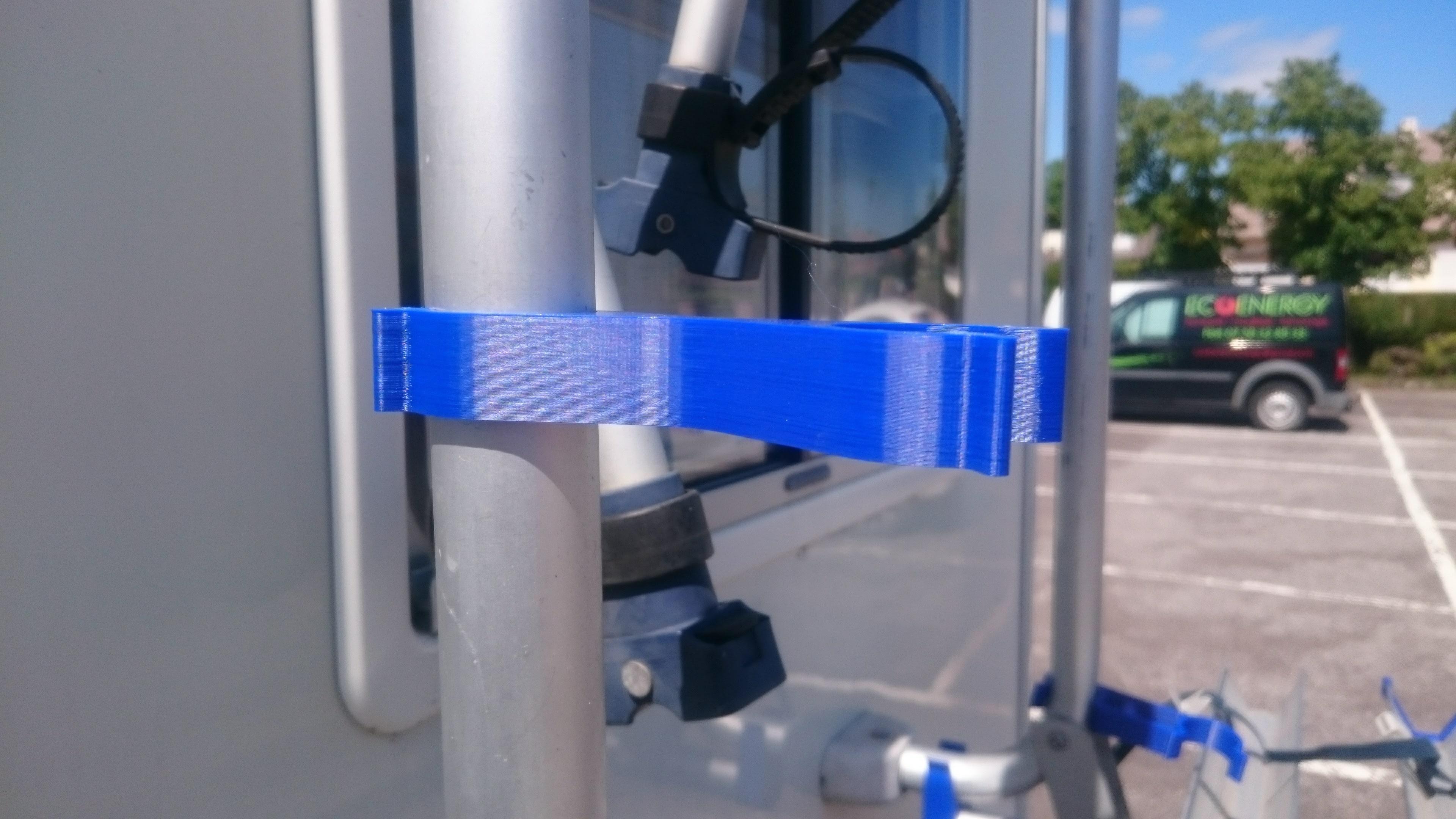 01-Clipse porte velo N1.jpg Download free STL file Parts Bike carrier for motorhomes • 3D printer model, Ldom21