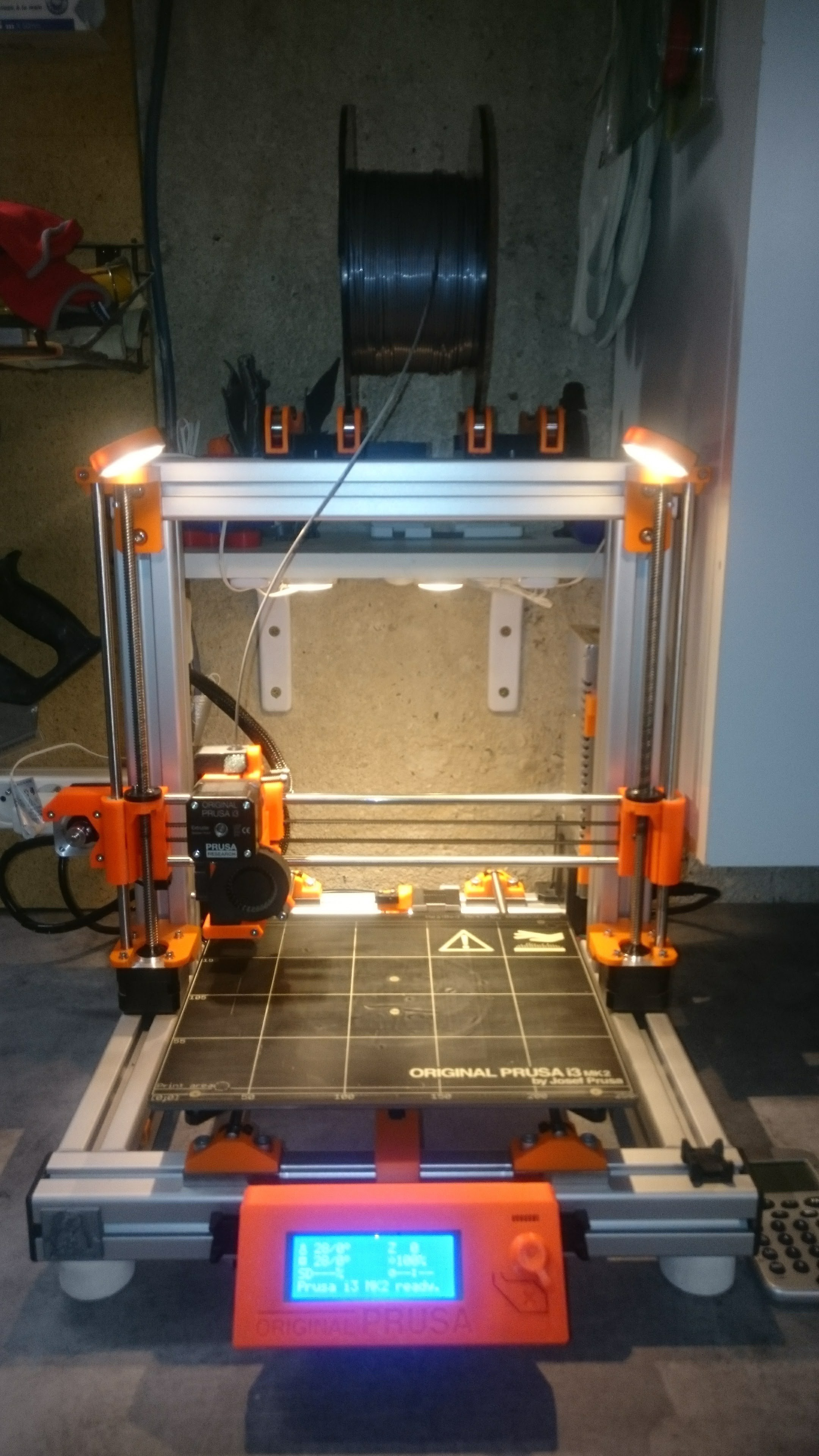 DSC_1062.jpg Download free STL file Modified Prusa i3 MK2S • 3D printer model, Ldom21