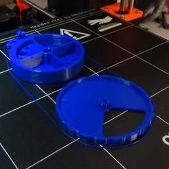 Download free 3D printer designs Daily pill dispenser, Ldom21