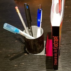 Free STL Pencil holders and documents, llicari