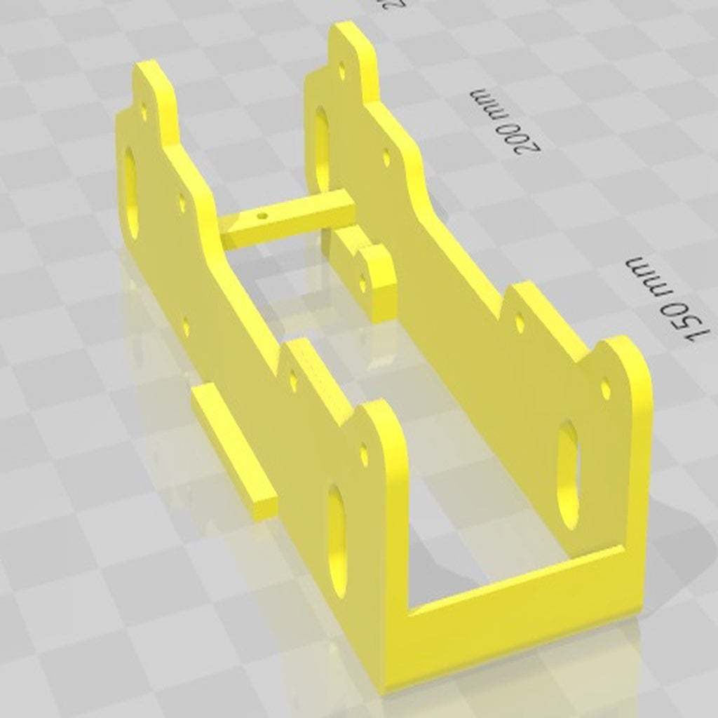 Cuerpo03.jpg Download free STL file Chassis Raid T2 Battle 75 Slot • 3D printer design, SergioMoyaCiorraga