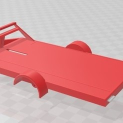 01.jpg Download STL file Slot car trailer 1/32 • 3D printer object, SergioMoyaCiorraga