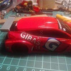 105704037_569468287094685_6062138297232133149_n.jpg Download STL file Aleron Renault Megane Mk3 Ninco SCX • 3D print design, SergioMoyaCiorraga