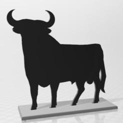 01.jpg Download STL file Osborne Bull Poster • 3D printable design, SergioMoyaCiorraga
