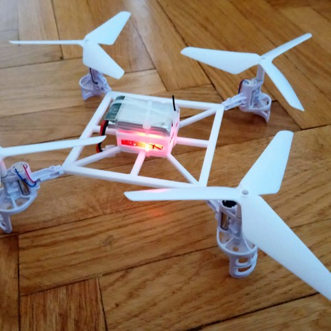 DSC_0026.JPG Download STL file Syma racing drone frame  • 3D print design, Vladimir2