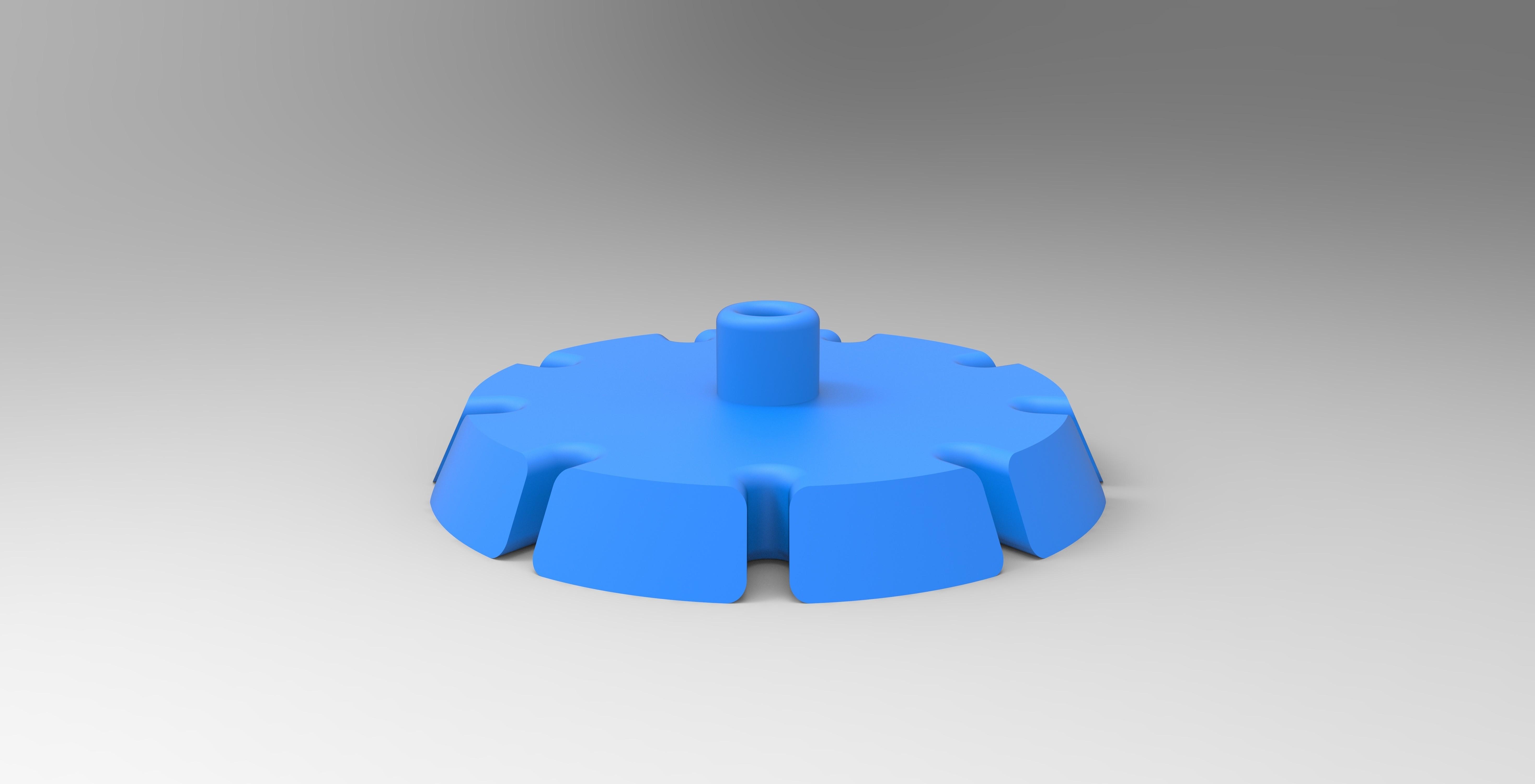 fgh.jpg Download STL file HELP CUTTING CAKE PART CUTTING • 3D printer object, GuilhemPerroud