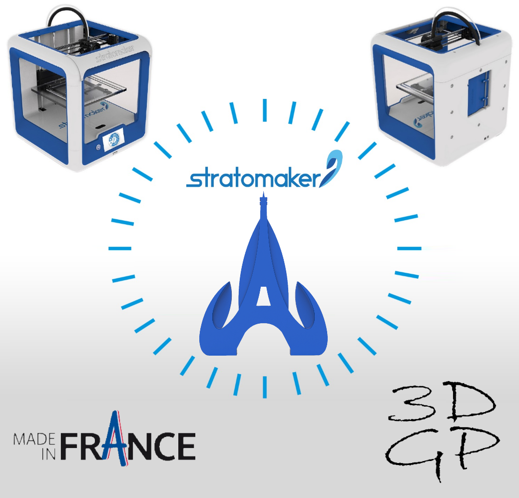 af.png Download free STL file Key ring or stratomaker figurine with tapered tower • 3D printable object, GuilhemPerroud