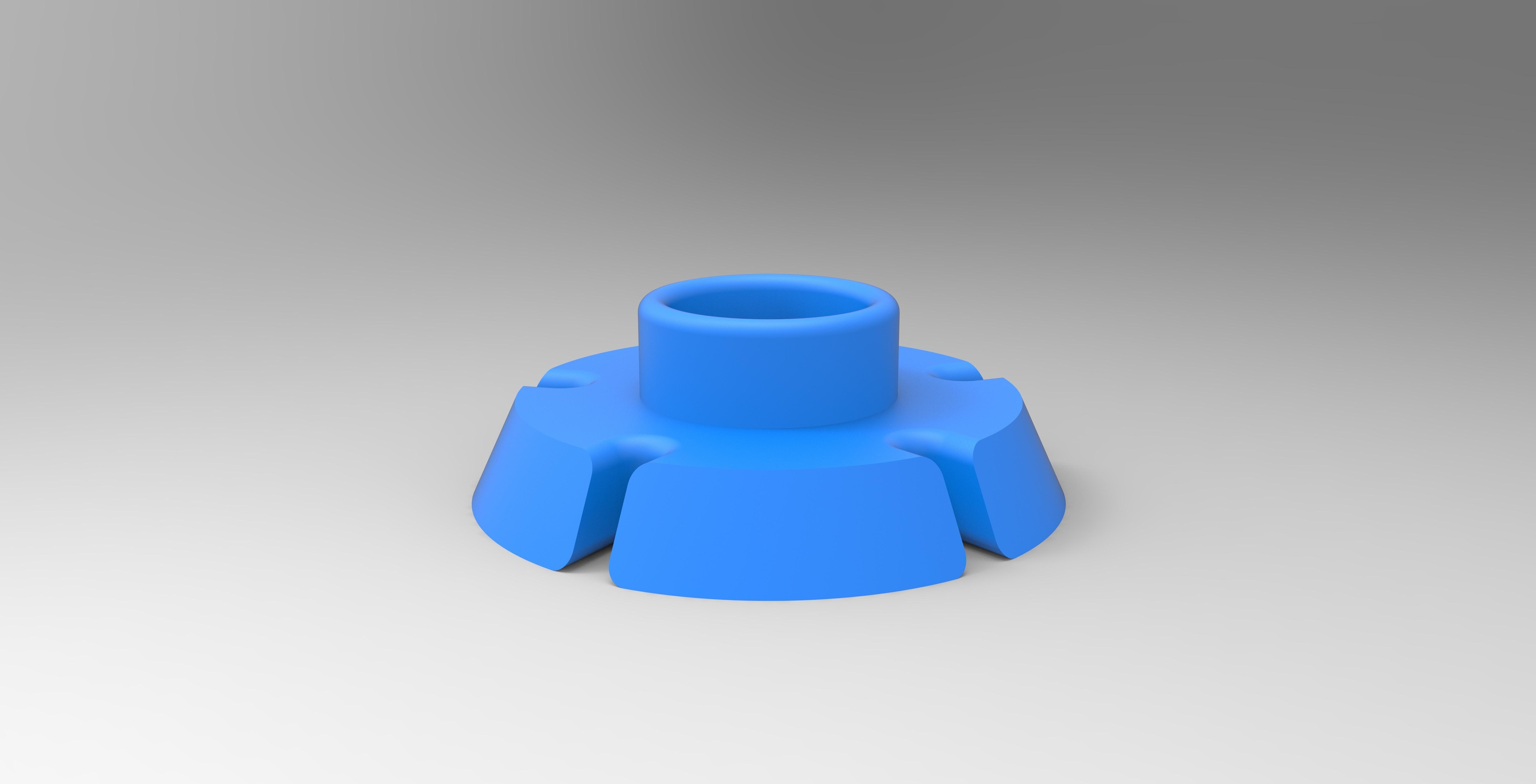 f.jpg Download STL file HELP CUTTING CAKE PART CUTTING • 3D printer object, GuilhemPerroud