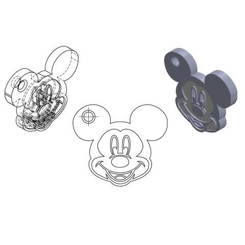 Sans titre.jpg Download STL file KEY DOOR • 3D printable template, GuilhemPerroud