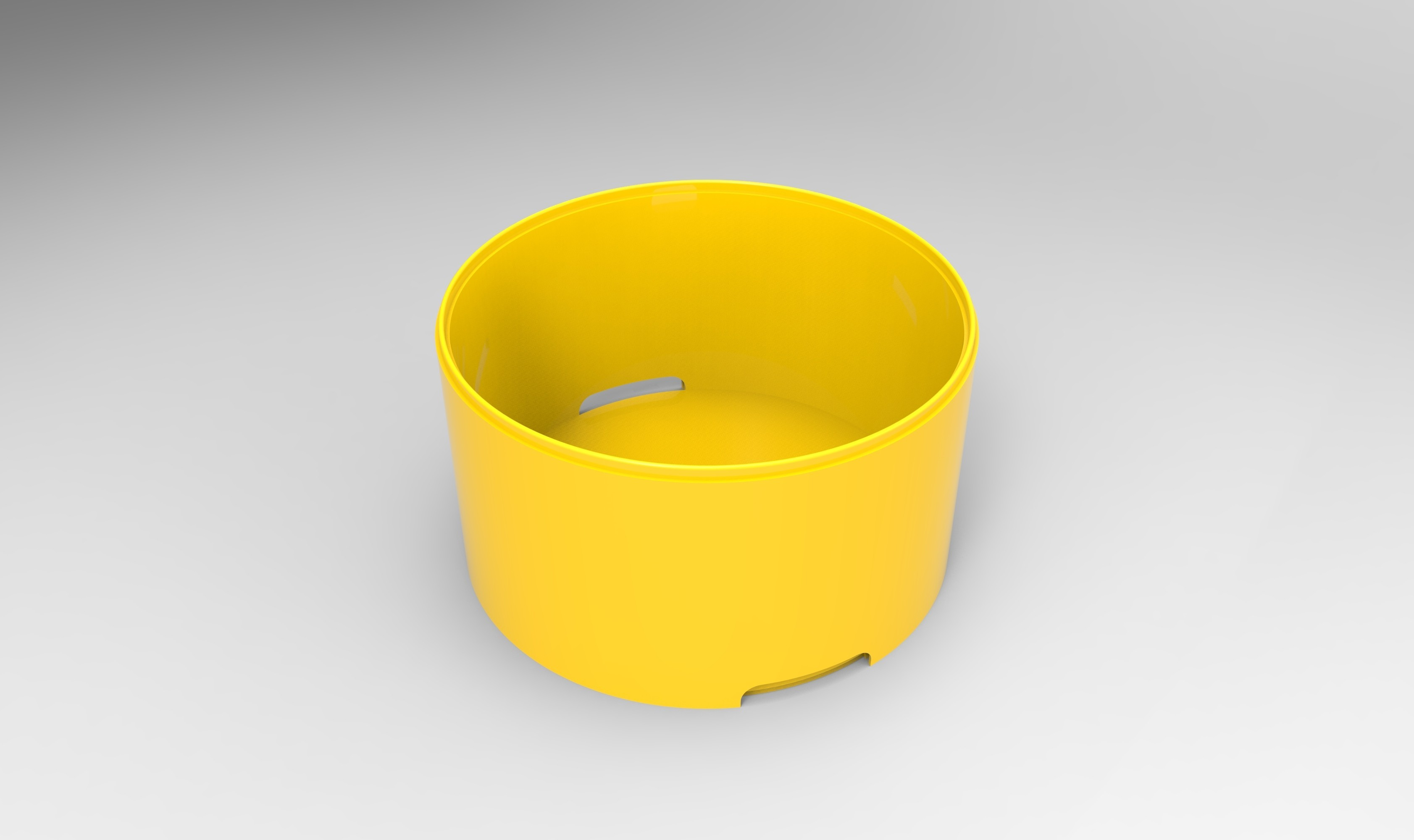 rendu caisse plastique blanc.95.jpg Download STL file Storage box, bedside table, custom furniture • 3D print design, GuilhemPerroud