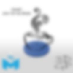 Pièce1.STL Download free STL file Cup mats • 3D print design, GuilhemPerroud