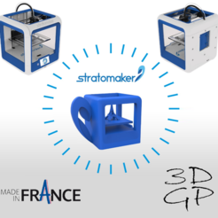 Download free 3D print files stratomaker key ring, GuilhemPerroud