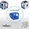 Download free 3D print files stratomaker key ring, GuilhemPerroud