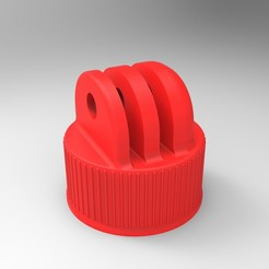 3D printer models Coca Cola bottle caps for buoys, GuilhemPerroud