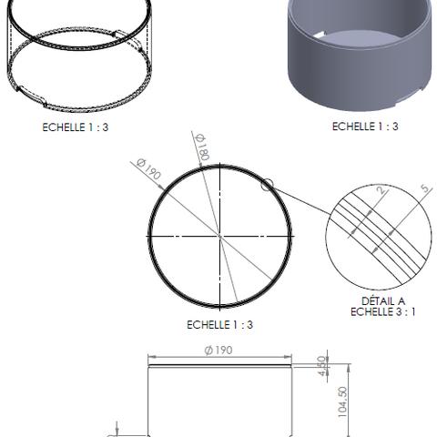 rendu caisse.png Download STL file Storage box, bedside table, custom furniture • 3D print design, GuilhemPerroud