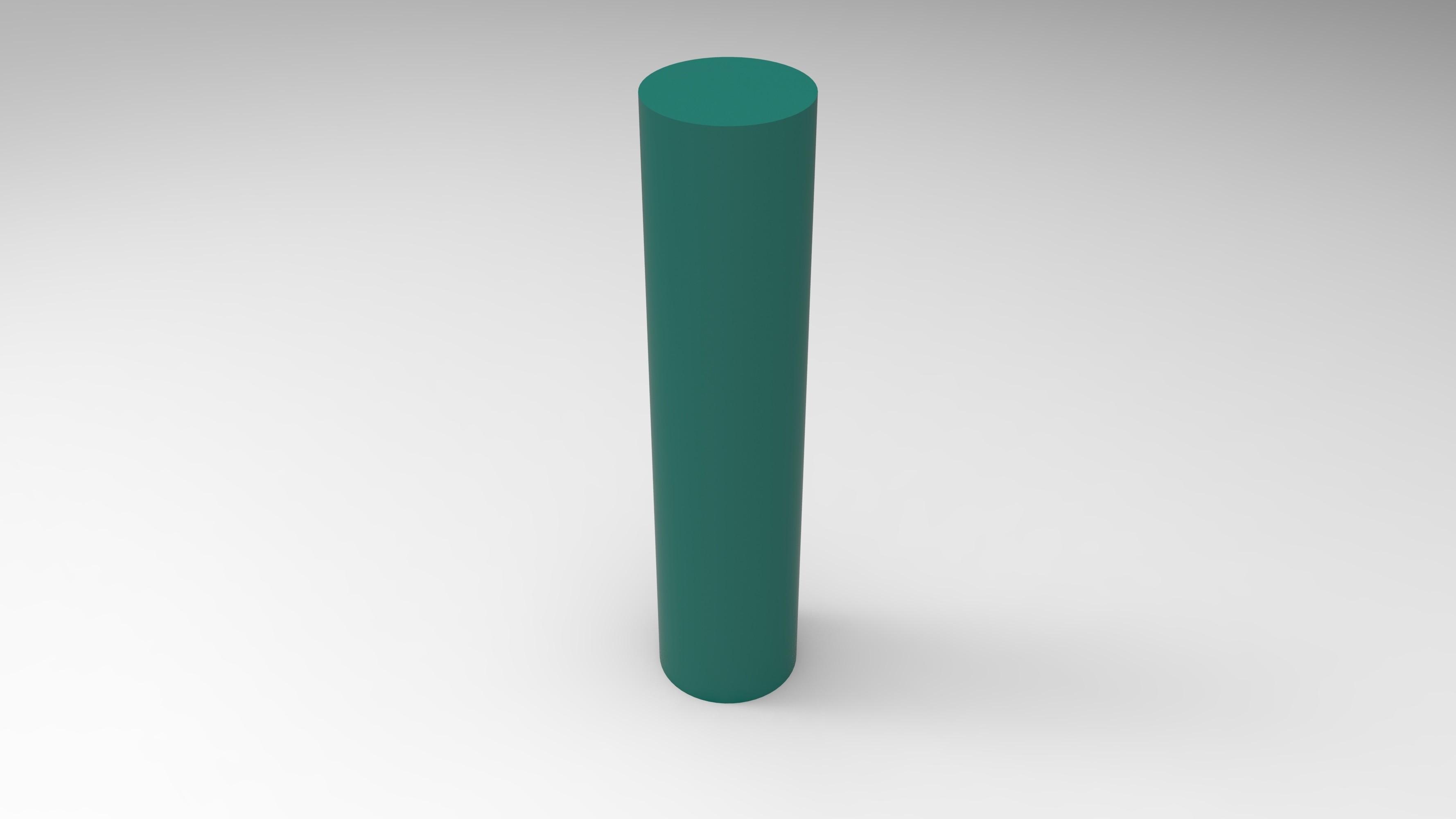 rendu vert pied.jpg Télécharger fichier STL Meuble pour ordinateur avec porte carte sd, micro sd et clef USB • Design imprimable en 3D, GuilhemPerroud