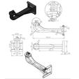 3D printing model Go Pro shaft mounting for shaft, GuilhemPerroud