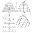 Sans titre.png Download STL file HELP CUTTING CAKE PART CUTTING • 3D printer object, GuilhemPerroud
