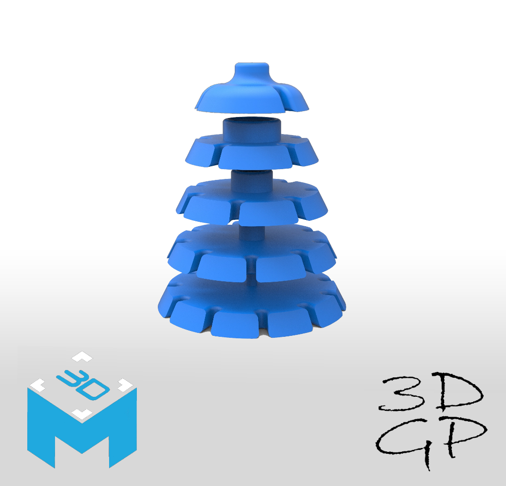 rgt.png Download STL file HELP CUTTING CAKE PART CUTTING • 3D printer object, GuilhemPerroud