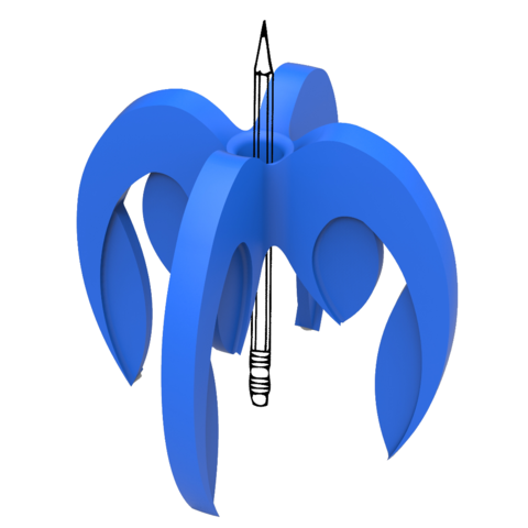 montage fi.png Télécharger fichier STL gratuit porte crayon composé de 4 logos STRATOMAKER • Modèle pour imprimante 3D, GuilhemPerroud