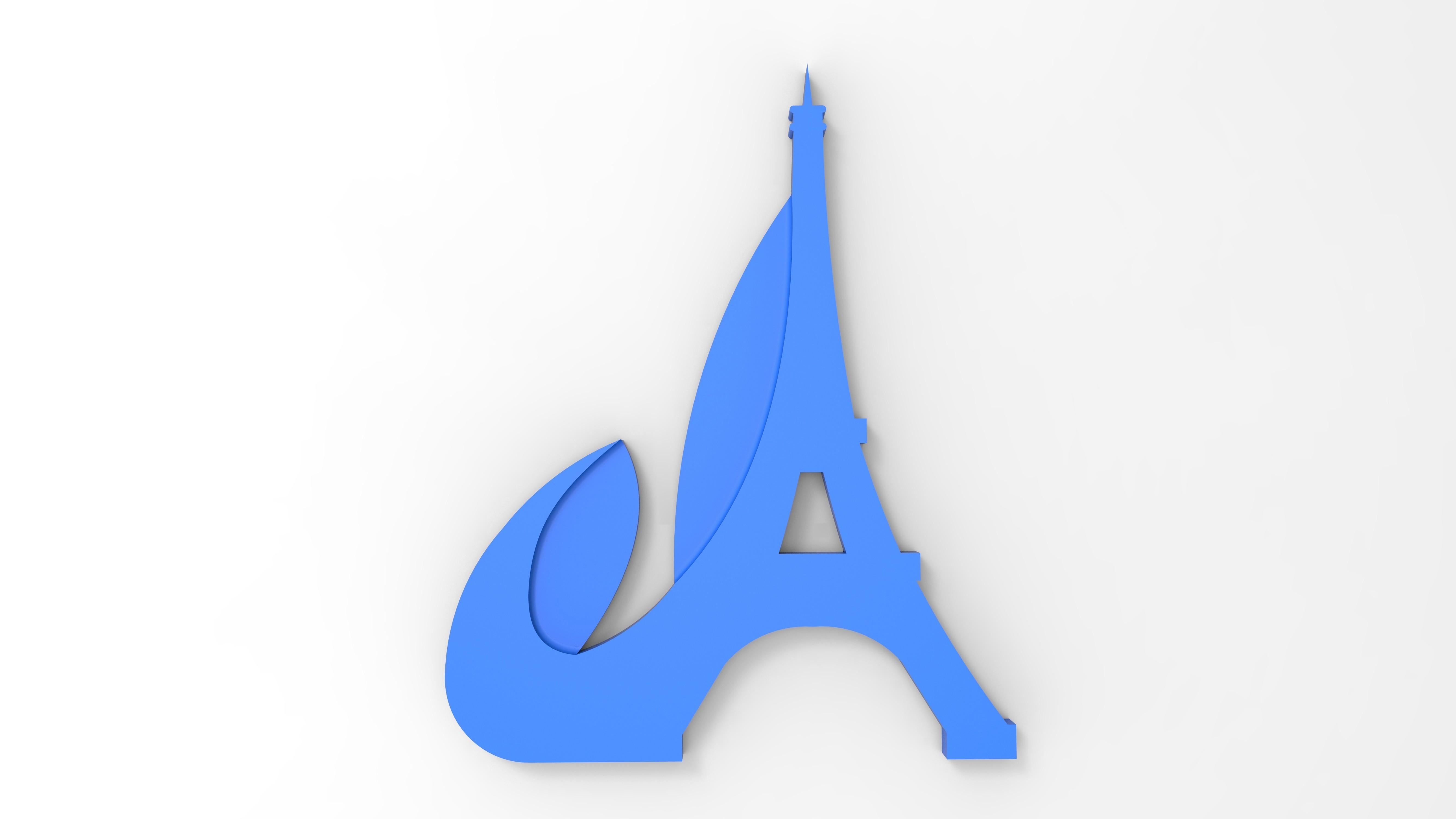 rendu face bleu.jpg Download free STL file Key ring or stratomaker figurine with tapered tower. • Model to 3D print, GuilhemPerroud