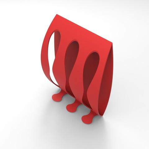 Download STL file Toothbrush holder (bathroom present2sentoire) • 3D printer model, GuilhemPerroud
