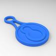 Impresiones 3D Token de la cesta de la compra, GuilhemPerroud