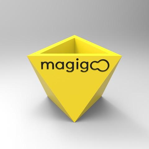 rendu jaunePUB.231.jpg Download free STL file Pot to do everything • Template to 3D print, GuilhemPerroud