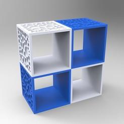 Imprimir en 3D Estante de diseño para ser montado a medida, GuilhemPerroud