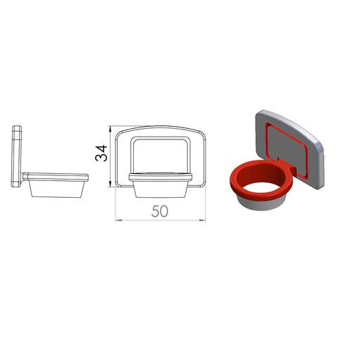 2.png Download STL file Play basketball for breakfast! • Template to 3D print, GuilhemPerroud