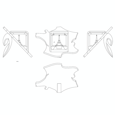 ^lan2.png Download free STL file Key ring or stratomaker figurine - printer located in France • 3D printer template, GuilhemPerroud