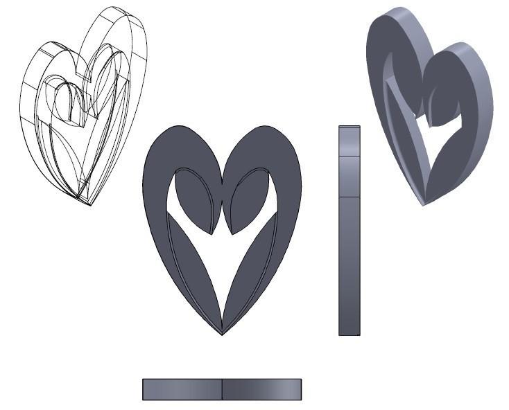 coeur.jpg Download free STL file Heart from the stratomaker logo • 3D print object, GuilhemPerroud