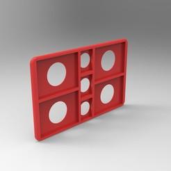 Télécharger fichier 3D porte carte sd & micro sd. dimension carte bancaire (rangement utile, porte feuille, ordinateur, camera, appareil photo), GuilhemPerroud