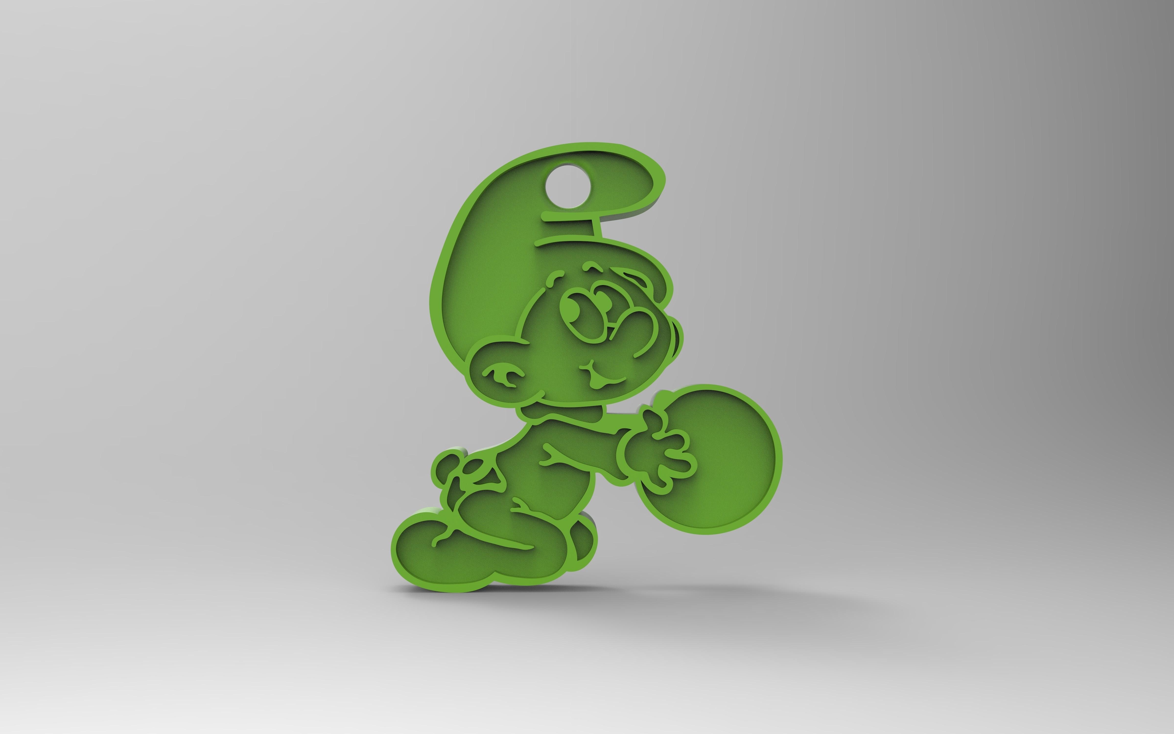 rendu 3.29.jpg Download free STL file Key ring • 3D printer model, GuilhemPerroud