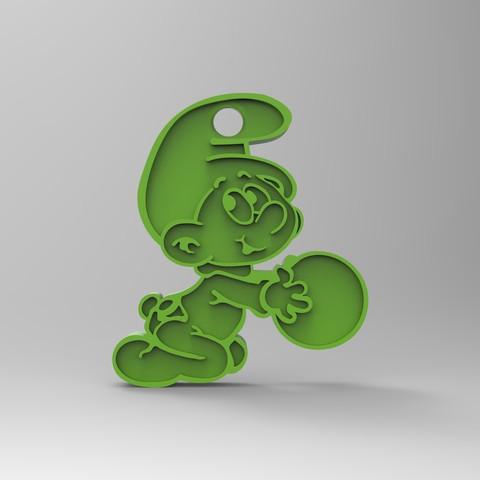 rendu 3.29.jpg Télécharger fichier STL gratuit Porte clef • Design pour impression 3D, GuilhemPerroud