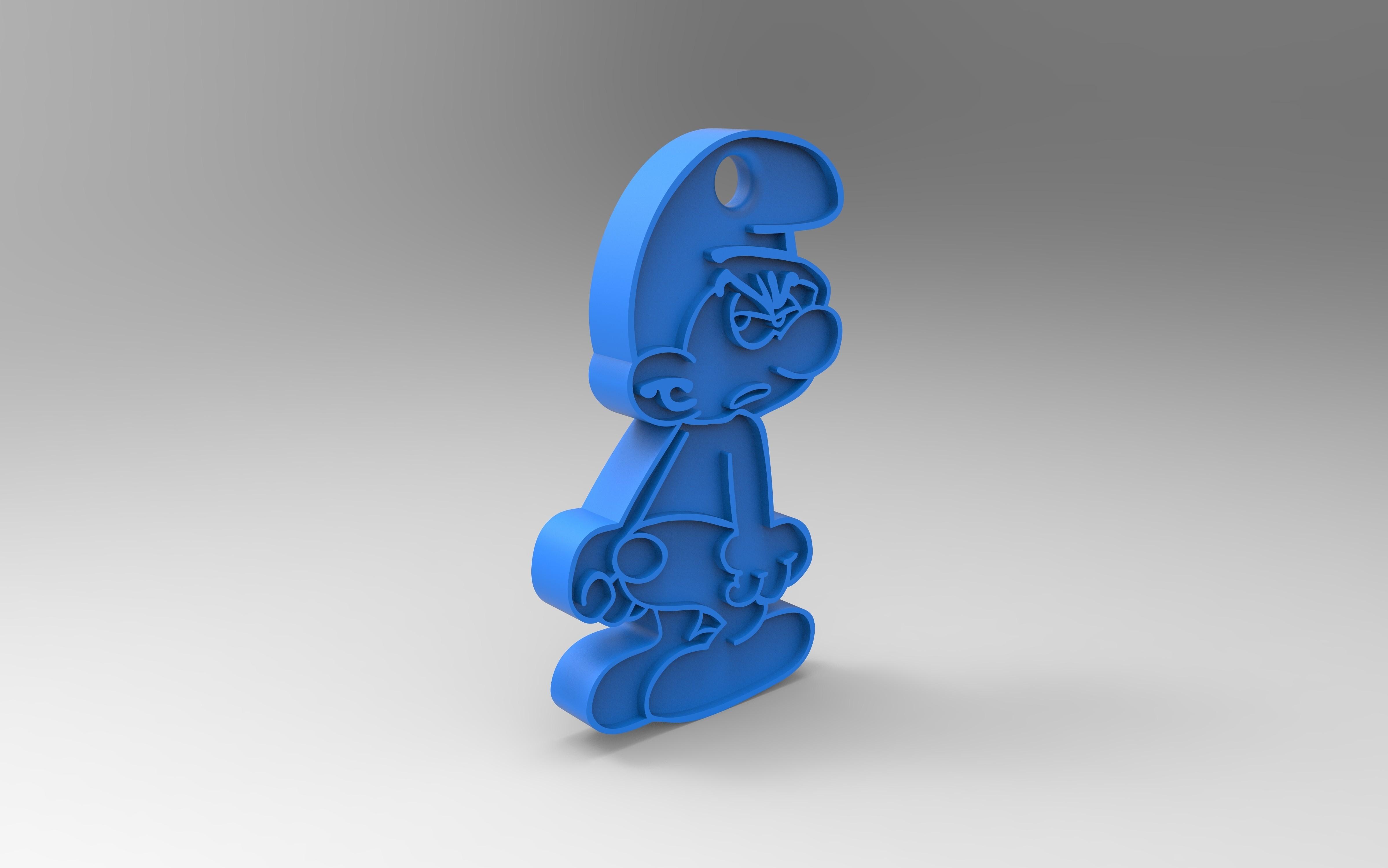 rendu.jpg Télécharger fichier STL gratuit Porte clef • Design pour impression 3D, GuilhemPerroud
