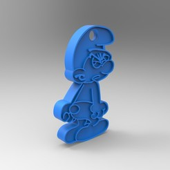rendu.jpg Download free STL file Key ring • 3D printer model, GuilhemPerroud
