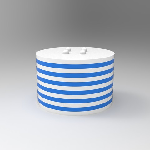 rendu enssemble.jpg Download free STL file Cup mats • 3D print design, GuilhemPerroud