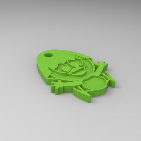 rendu calimero vert.6.jpg Download STL file Calimero • 3D printing template, GuilhemPerroud