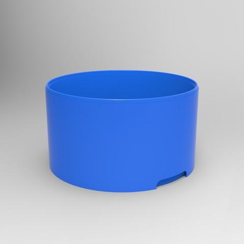 rendu caisse plastique blanc.94.jpg Download STL file Storage box, bedside table, custom furniture • 3D print design, GuilhemPerroud