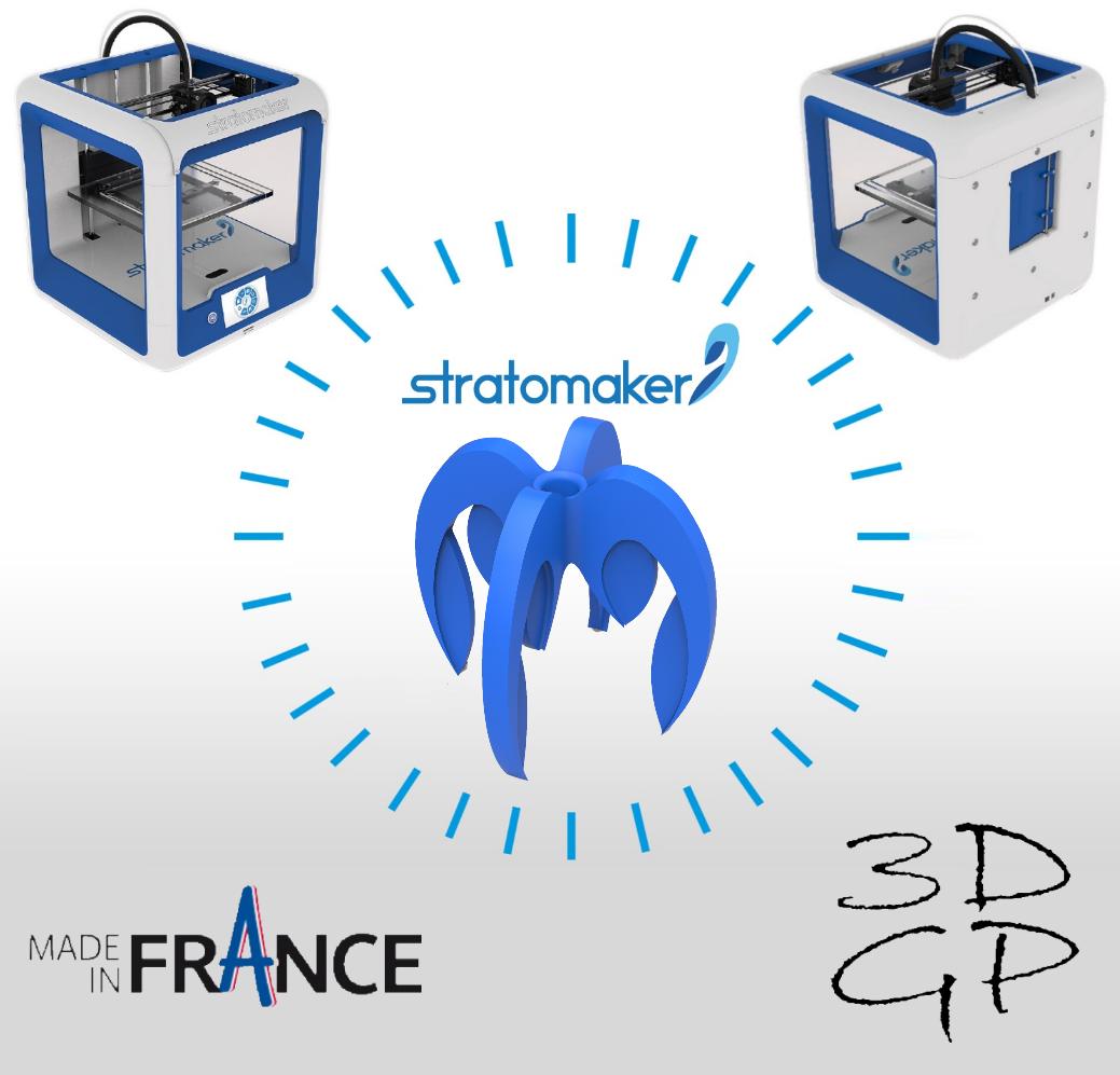 Sans titre.png Télécharger fichier STL gratuit porte crayon composé de 4 logos STRATOMAKER • Modèle pour imprimante 3D, GuilhemPerroud