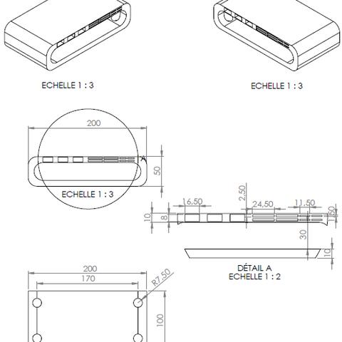 1.png Télécharger fichier STL Meuble pour ordinateur avec porte carte sd, micro sd et clef USB • Design imprimable en 3D, GuilhemPerroud