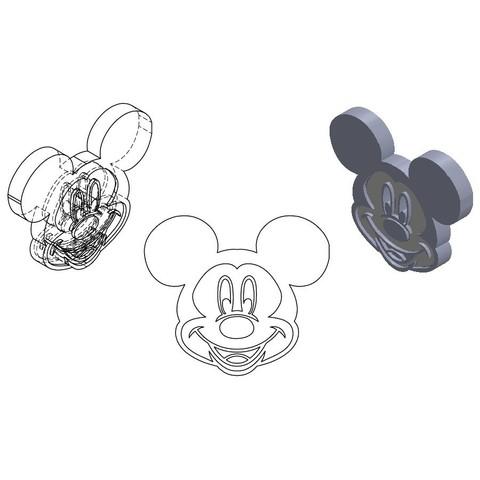 sd.jpg Download STL file KEY DOOR • 3D printable template, GuilhemPerroud