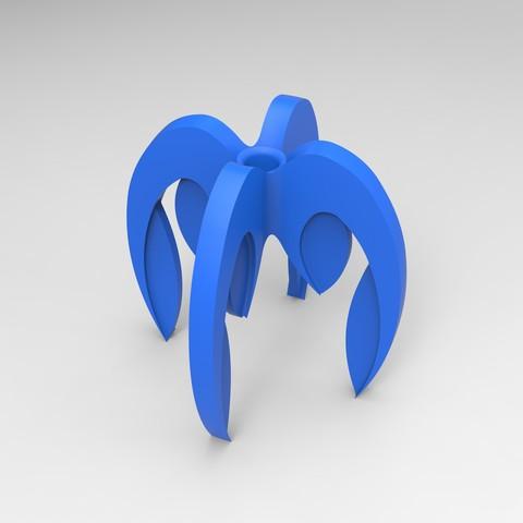 porte crayon bleu .177.jpg Télécharger fichier STL gratuit porte crayon composé de 4 logos STRATOMAKER • Modèle pour imprimante 3D, GuilhemPerroud